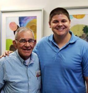 Chiropractor Jeffrey Lawlor with Dean
