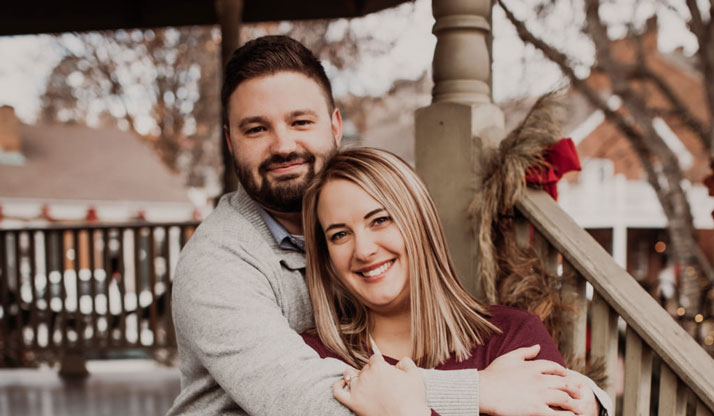 Chiropractor Weldon Spring MO Kallie Rogers and Husband